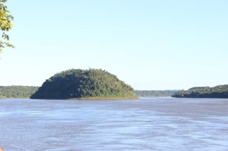 La Isla Caraguatay tiene sólo 54 hectáreas